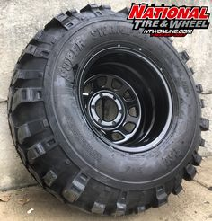 D-Window steel black wheel mounted up to a Super Swamper LTB. 4x4 Tires, Wheels And Tires, Future Trucks, Wheel And Tire Packages, Jeep Parts, Toyota Trucks, Black Wheels, Steel Wheels, Tired