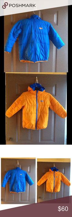 Helly Hansen Reversible Outershell & Lining Jacket KIDS size...great condition Helly Hansen Jackets & Coats Raincoats