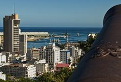 View of Port Louis, from the Fort Adelaide - Mauritius