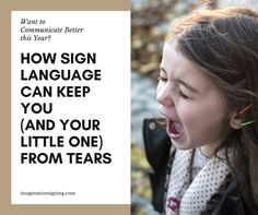 "Standing in the store with a screaming, hungry, fussy baby is no fun.Now add a screaming, fussy, ""pay attention to me!"" toddler to the mix. Sign Language Basics, Baby Sign Language, American Sign Language, Pay Attention To Me, Stress, Signs, Learning, Fun, Novelty Signs"