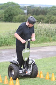 Segway navigation at Yorkshire Outdoors