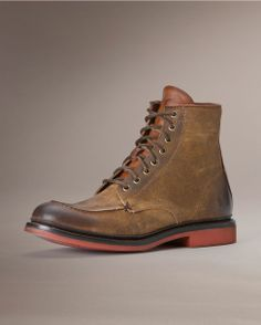 Frye Men's Wallace Lace Up Boot - Tan