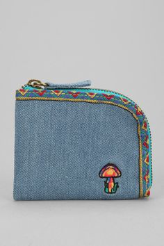 Spurling Lakes Mushroom Side Zip Wallet