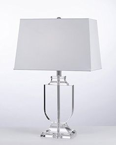 GO-T204-GM-C0012T new Crystal Urn Table Lamp with Shade Accent Modern Glass Contemporary Transitional