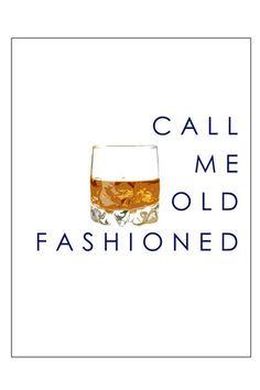 Call Me Old Fashioned Print | Katie Kime