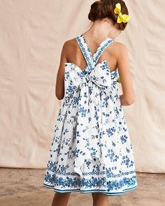 Porcelain Flower Dress by Helena & Harry - Girls
