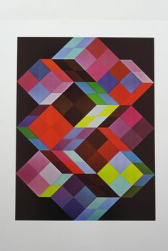 5x Victor Vasarely - Vega-Kontosh, TRIDEM-K, ...