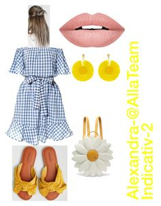 """""""Untitled #11"""" by alexandra-marinela on Polyvore featuring American Eagle Outfitters, Charlotte Olympia, Oscar de la Renta and Forever 21"""