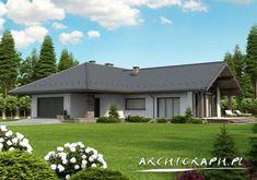 Lemko TERMO lustro: wejście House Plans, Garage Doors, Exterior, House Design, Outdoor Decor, Cottage Ideas, Home Decor, Plantation Houses, House 2