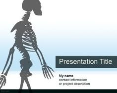 Free neurology powerpoint template download neurology powerpoint free skeleton powerpoint template is a nice anatomy powerpoint design and background that you can use for science projects toneelgroepblik Image collections
