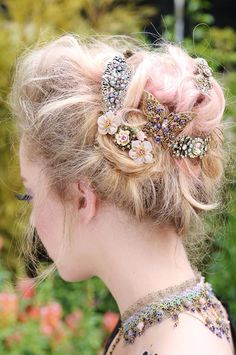 Michal Negrin hair combs and barrettes