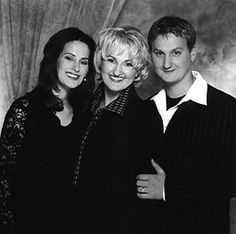 The Martins -- 2 sisters and brother -- Southern Gospel...great family harmony. They are one of our favorite groups!