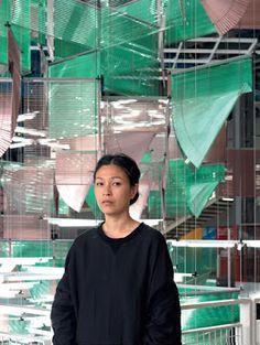 ♥ Galeries Lafayette recebe instalação da artista sul-coreana Haege Yang ♥ Paris ♥ FR ♥  http://paulabarrozo.blogspot.com.br/2016/08/galeries-lafayette-recebe-instalacao-da.html
