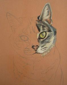chat pastel