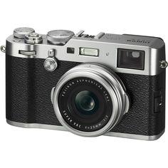 Fujifilm X100F Premium Compact Digital Camera - Silver