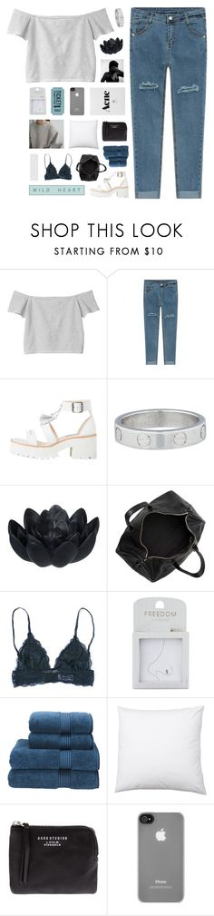 """""""allure"""" by nanarachell ❤ liked on Polyvore featuring Monki, Cartier, Sia, Alexander Wang, Topshop, Christy, Acne Studios, Incase and melsunicorns"""