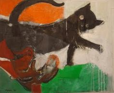 Portuguese Art from Past to Present Portugal, Pablo Picasso, Paint Designs, Van Gogh, Cat Lady, Modern Art, Thing 1, Animals, Kitty Cats