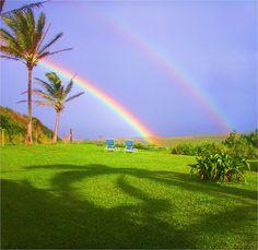 #Hawaii Rainbow Maui Hawaii Lanai Ka'anapali Kapalua Wailea Kihei Hana Road Kahului Lahaina flowers beach waves surf ocean sunset weddings reception marry married dj disc jockey party landscape  by ChuckTheDJ, via Flickr