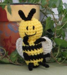 Honey Bee Bug-a-boo Amigurumi Crochet Pattern
