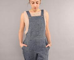 Conscious Clothing, sustainable, handmade, eco friendly, low impact, denim overalls