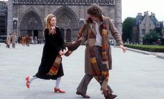 City of Death ~ Romana II (Lalla Ward) and Fourth Doctor (Tom Baker)