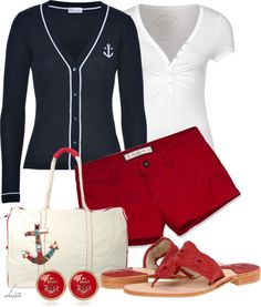 """""""Anchors"""" by christa72 on Polyvore"""