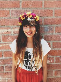 diy flower crowns I WANT MY HAIR LIKE THIS NOW