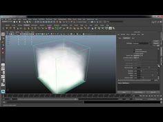 Maya fluid clouds - YouTube