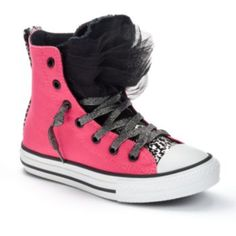 42321fde8f2fc8 Converse Chuck Taylor All Star Party Girls High-Top Sneakers. I think I  just found my PINK!  )