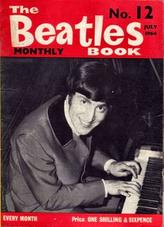 https://flic.kr/p/9WuAuW | Beatles Monthly No.12 Jul 1964 Front Cover | A Collection of genuine, first edition Beatles Monthly Book front covers.