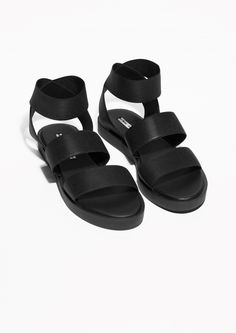 & Other Stories | Wide Strap Sandals