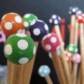 Wooden Knitting Needle 6mm  They are just beautiful!!