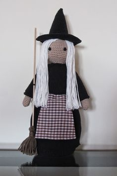 The witch project - free crochet pattern