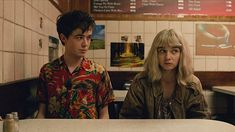 Jessica Barden and Alex Lawther in The End Of The F***ing World (2017)