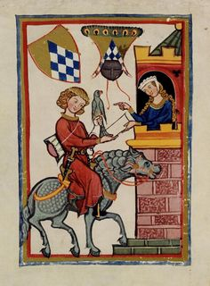 codex manesse | ... Juglar de Estiria Leuthold Saven-Codex Manesse - a photo on Flickriver