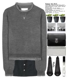 """- ̀ ̗i  in you ̖́-"" by alienbabs ❤ liked on Polyvore featuring Maison Margiela, Yves Saint Laurent, Bobbi Brown Cosmetics, women's clothing, women's fashion, women, female, woman, misses and juniors"