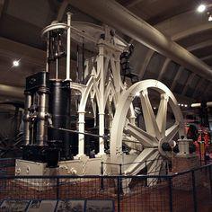 gothic  steam  engine