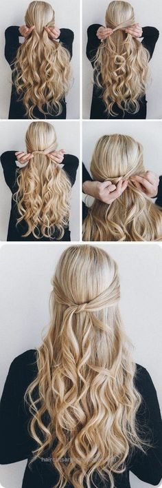 Check it out Easy Ponytails Hairstyle For Summer Long Hairstyle Galleries. Cool quick and easy hairstyles. quick and easy hairstyles for long hair straight hair photo. Related Pos ..