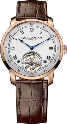 Graham Watch Geo Graham Tourbillon Limited Edition #basel-15 #bezel-fixed…