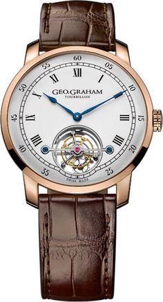 Graham Watch Geo Graham Tourbillon Limited Edition #basel-15 #bezel-fixed…