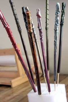 (big idea = leave your mark) another wand tutorial - out of bamboo sticks