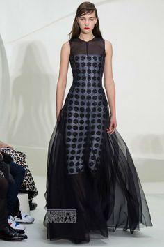 Christian Dior Haute Couture 2014 | Christian Dior haute couture весна-лето 2014 фото №45