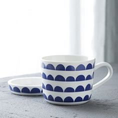 1 Set Cybil Coffee Mug with Saucer Ceramic Water Cup for Tea and Milk, Modern Geometric Design Blue( 220ml Mug+Saucer). Yesterday's price: US $14.60 (11.85 EUR). Today's price: US $12.85 (10.43 EUR). Discount: 12%.