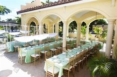 gourmet table miami wedding venues coral gables bridal shower party wedding places