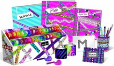 Fashion Angels Tapeffiti Desk Set With X-Wide Tapeffiti Only $18.60!