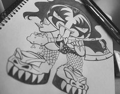 """Check out this @Behance project: """"Mini KISS band - manga version"""" https://www.behance.net/gallery/10539021/Mini-KISS-band-manga-version"""