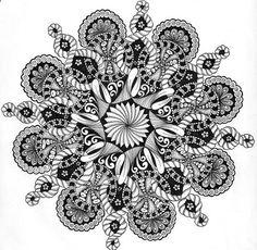 zen doodle mandala idea for tattoo- #ink #permanentink #tattoo…