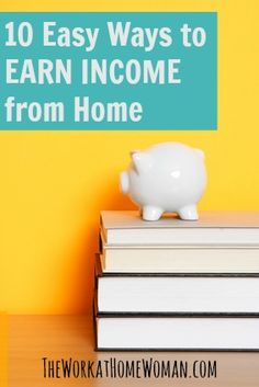 If you have a computer, Internet connection, and know your way around the web, here are some easy ways you can earn income from home. via The Work at Home Woman