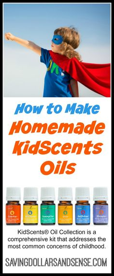 How to make your own Homemade KidScents Oils for your child.