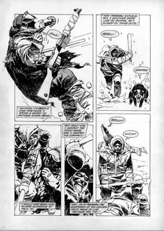 Winter World # 1 Page # 4 by Jorge Zaffino